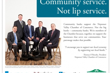 Community service bank presidents