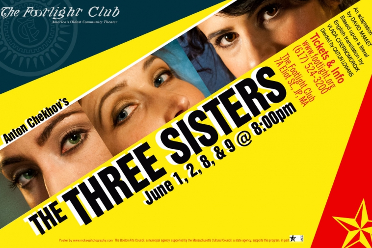 Anton Chekov's The Three Sisters poster