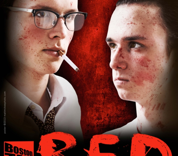 RED, a production by the Boston Teen Acting Troupe. Poster by MattMcKeePhoto.com