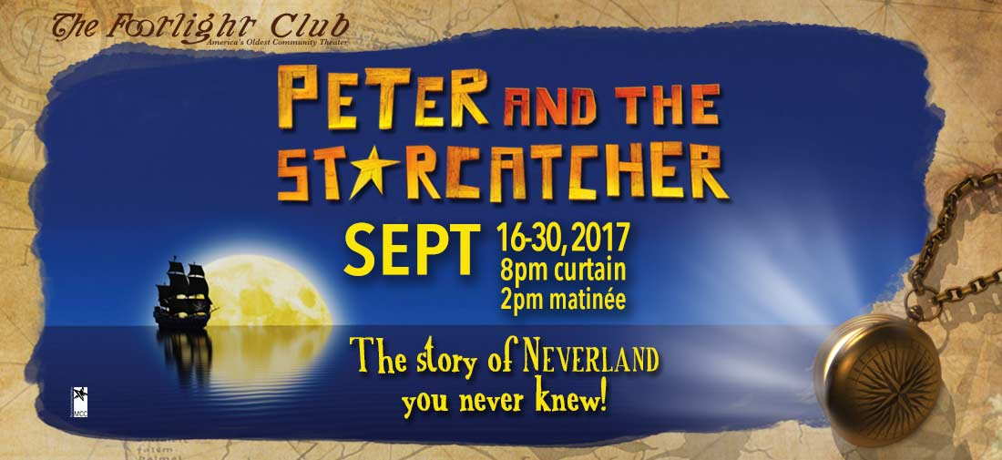 Peter and the Starcatcher Poster For Theatrical Marketing