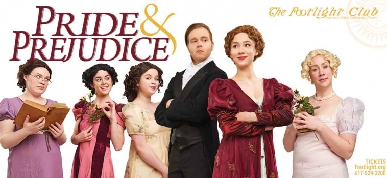 Pride and Prejudice Play Poster For Theatrical Marketing
