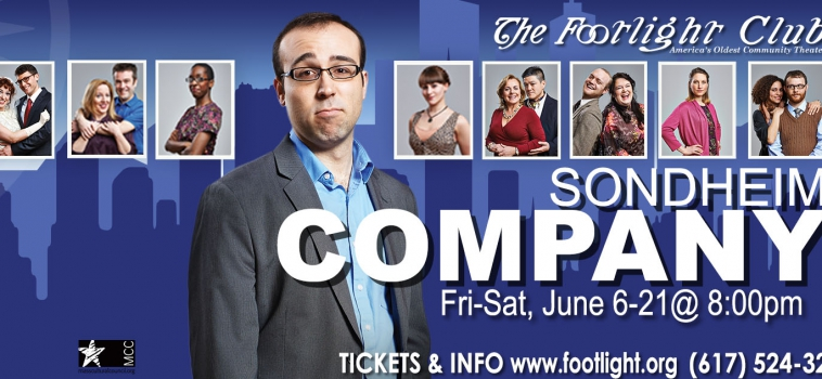 Sondheim's Company Poster at the Footlight Club