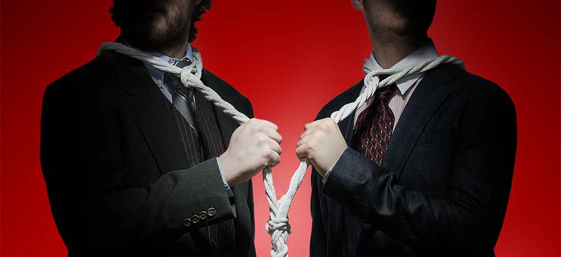 We Must Surely Hang Together – Stock Photo