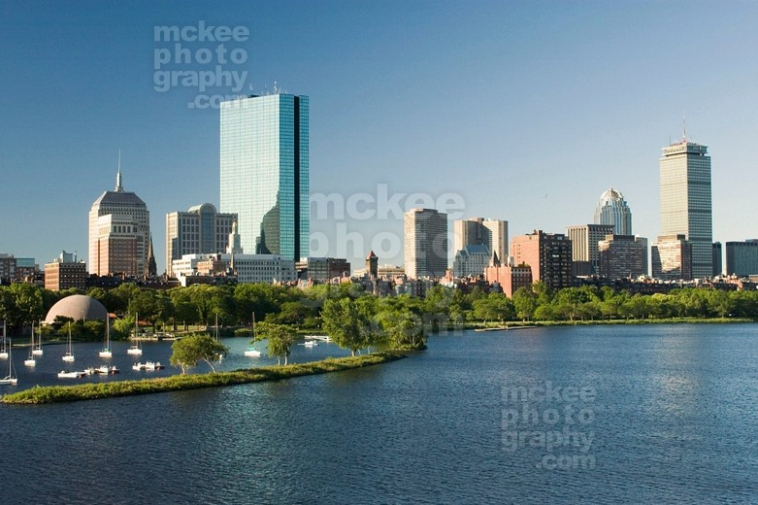 The Esplanade, View from Cambridge to Boston