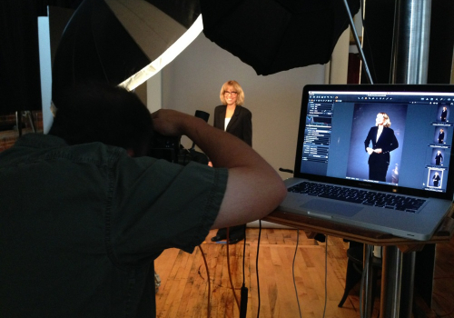 Biotech portraits behind the scenes