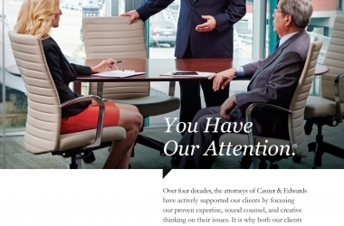 Law firm advertisment