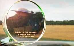 Objects on the Internet Appear Simpler -Art Show