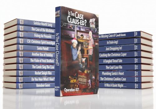 The Complete Rocketboy and Gears Adventure Book Series