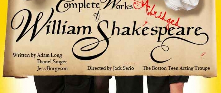 Shakespeare Abridged, The Poster