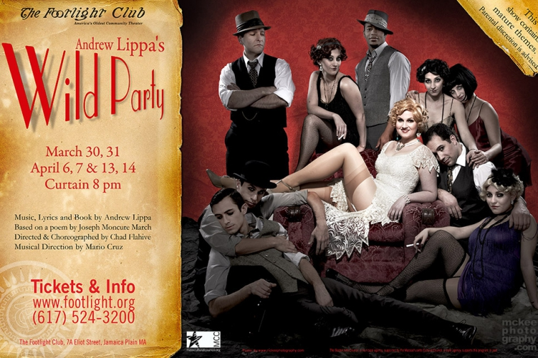Andrew Lippa's Wild Party – Poster