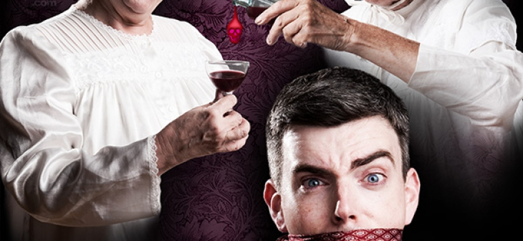 Arsenic and Old Lace marketing collateral shoot
