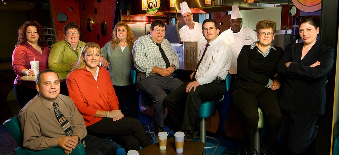 The Office Group Portrait Photography