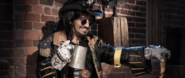 A Count Named Slick Brass: Steampunk Portraits at the Studio