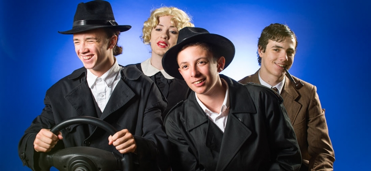 The 39 Steps – A Black Box Theater Poster Photo Shoot